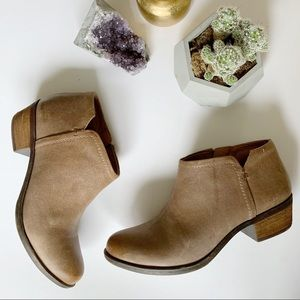 Lucky Brand Leather Bootie | Excellent Condition
